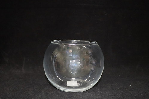 Glass Fishbowl 8""