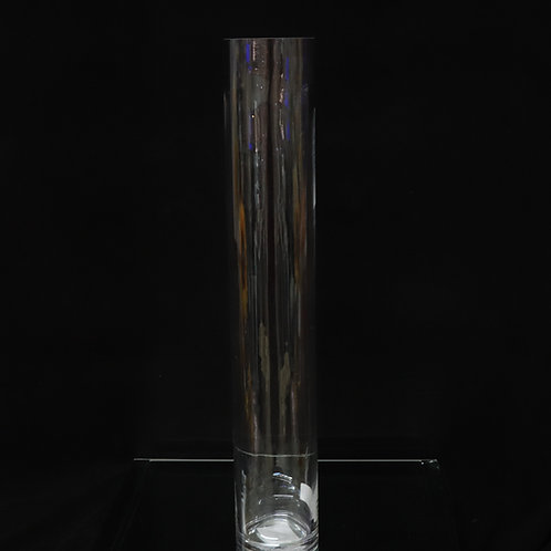 "5x28"" Tall Cylinder glass vase"