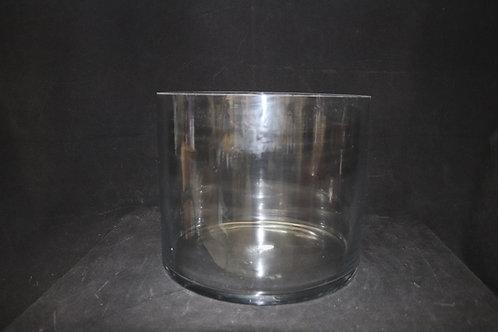 "12x10""  Glass Cylinder"