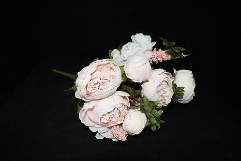 Pink2 Peony Silk Flowers Bouquet