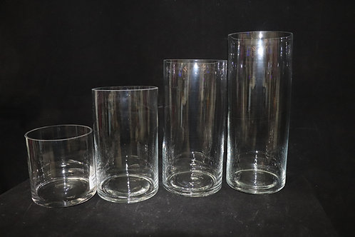 """5"""" Opening Glass Cylinders"""