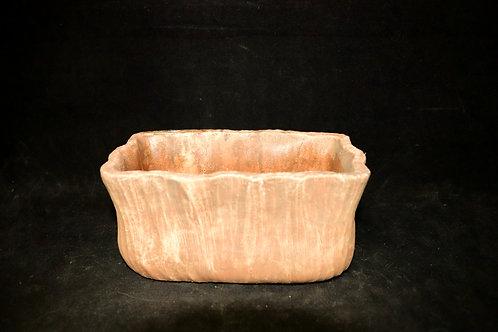 """Antique Ceramic Wave Rect 4x7"""""""