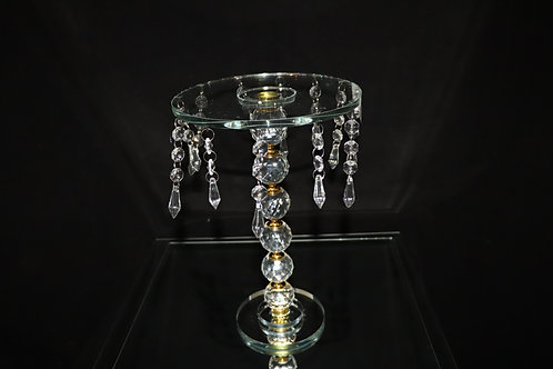 Crystal Cake Stand 8x12""