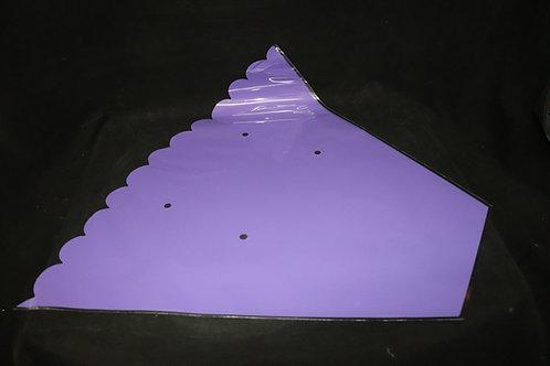 """28"""" Purple Flower Sleeve"""