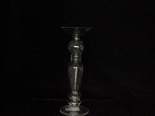Glass Clear Pillar Candle Holder