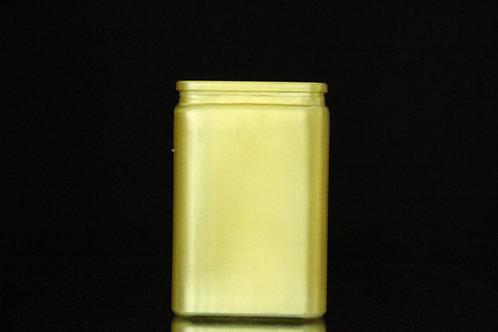 "4x6"" Tall Square Glass vase"