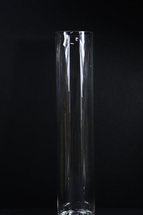 "7x32"" Tall Glass Cylinder Vase"