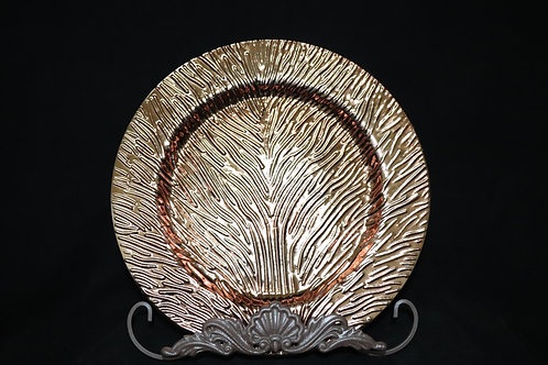 Tree of Life Charger Plate 13""