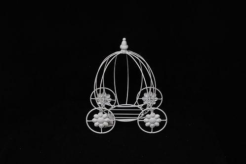 Wire Flower Cinderella Carriage