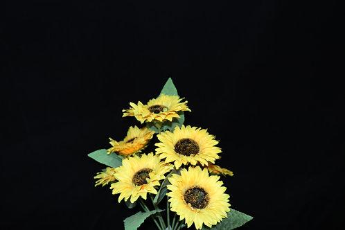 7 Heads Sun Flower Bunch