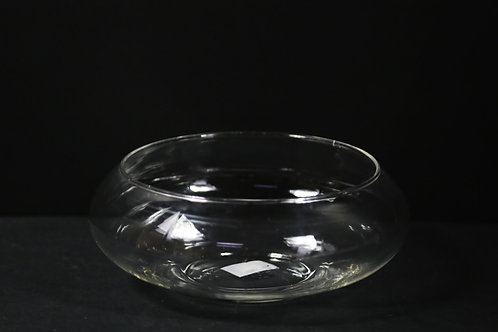 "8"" Lily Bowl /Flat fishbowl"