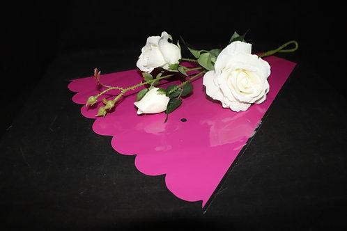 """16"""" Pink Flower Sleeves"""