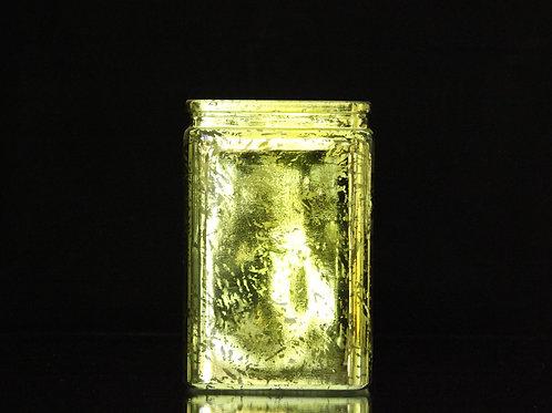 """4x6"""" Square glass vase"""