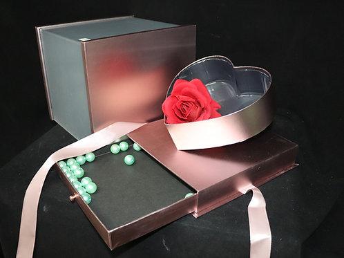 Square Box w/Secret Jewelry