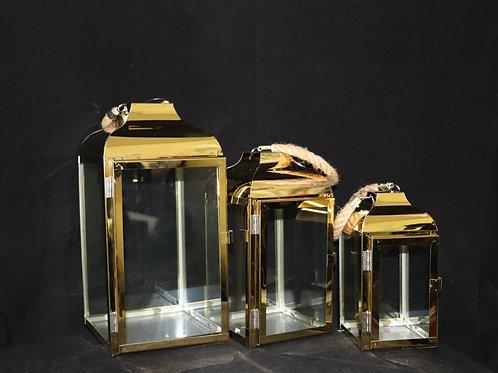 Gold Metal Lantern