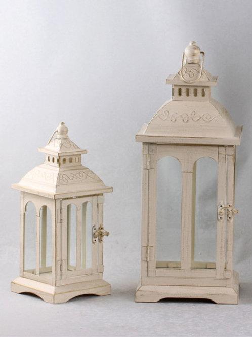HD1-SM 2pcs/Set Cream Vintage Lantern