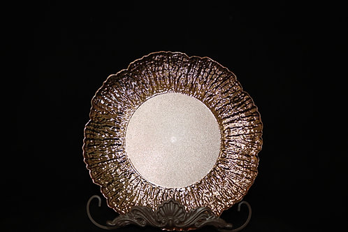 Flower Shape Charger Plate 13""
