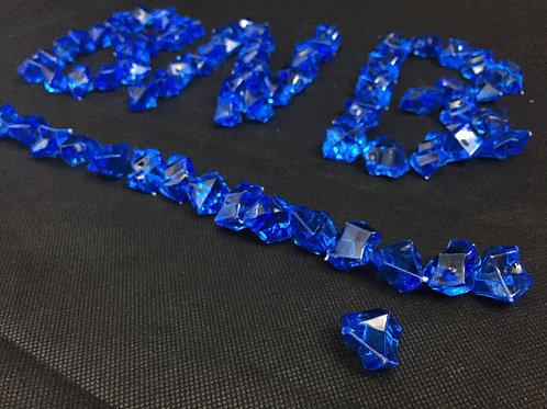 Royal Blue Acrylic Lucky Stone 400g