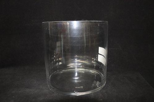 8x8 Cylinder Glass vase