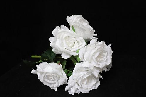 Artificial Bunch Rose w/7Heads