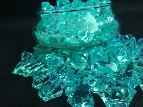 Tiffany Blue Acrylic Lucky Stone  400grm