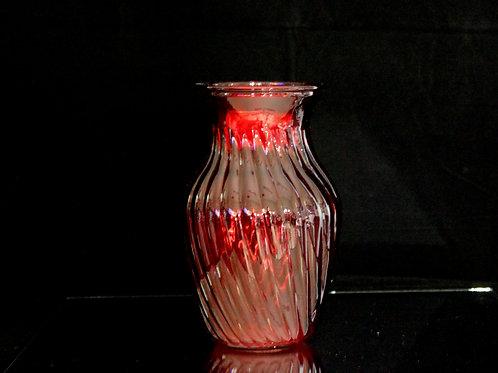 """8"""" Swirl Ginger Vase"""