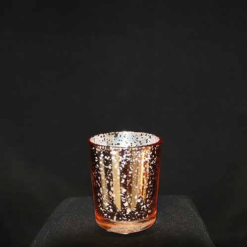 """Rose Gold Votive candle holder 2x2.8"""""""