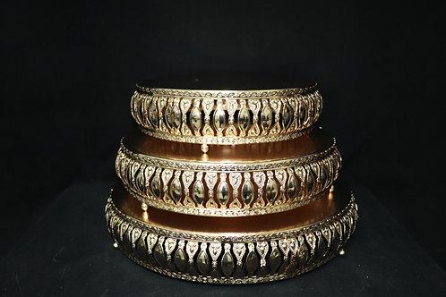 Metal Cake Holder 3pc/set