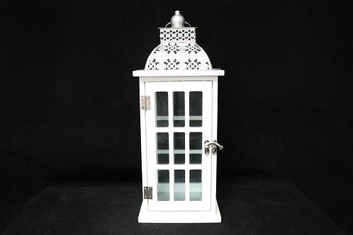 """Vintage Wood Lantern 15"""""""