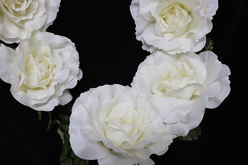 Rose Garland - Cream