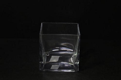"4x4x4"" Square vase"
