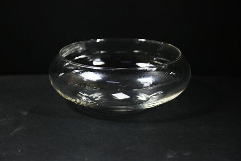 "10"" Lily Bowl / Flat Fishbowl"