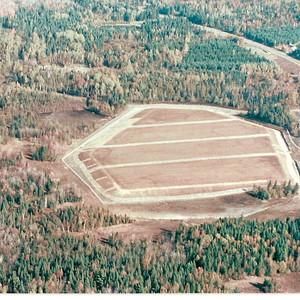 Recouvement résidu minier Fontainebleau 1993