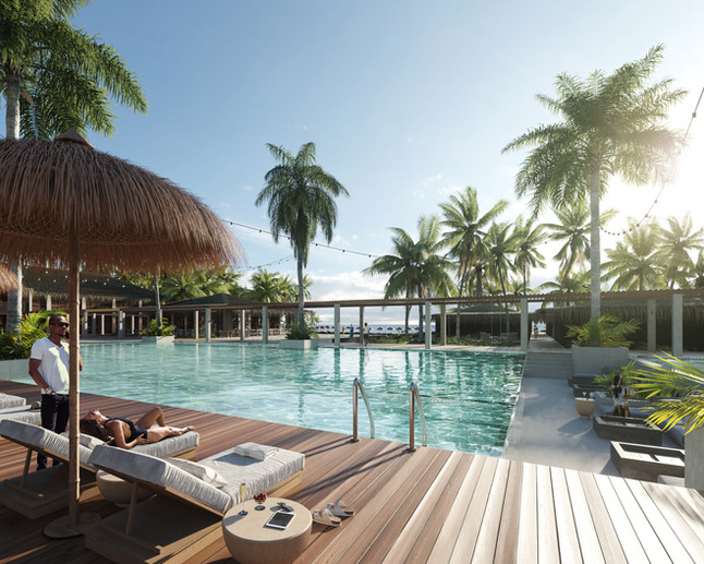 Resort complex in Comoros