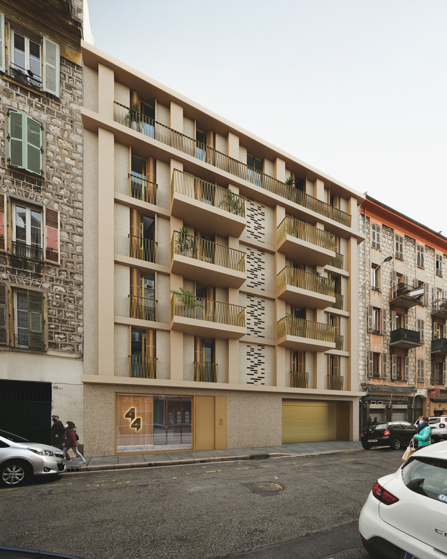 Apartment building in Nice, France