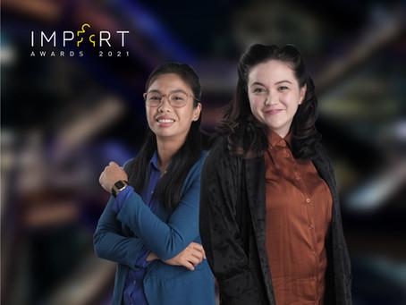 Curators Kathleen Ditzig and Eunice Lacaste win IMPART Awards 2021