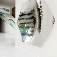 Artworks in JSW Group Office in Bandra Kurla Complex in Mumbai