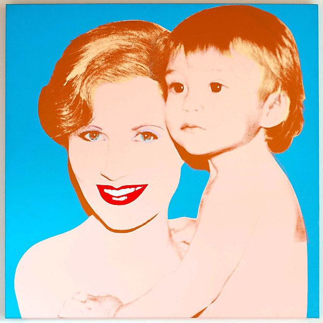Andy Warhol. The portrait of Suzanne and