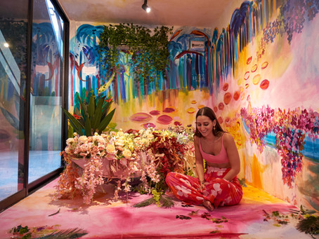 Art Encounters presents 'Petals Fall Now and Then' by Chloë Manasseh