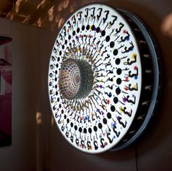 Time Wheel, 2008 by Xu Zhongmin