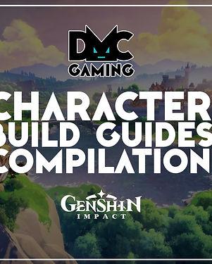 DMC Gaming Genshin Impact Character Buil