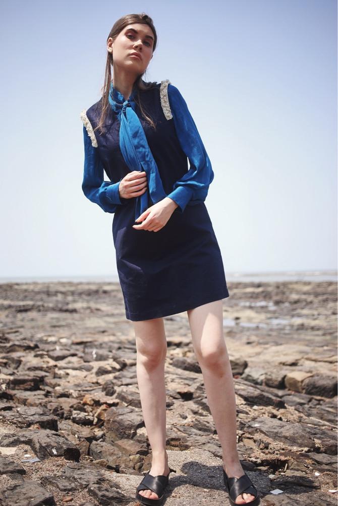 Our Shoulder Embellished Mini Dress Got Featured In Elegant Magzine