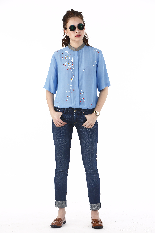 Matchsticks Placement Shirt