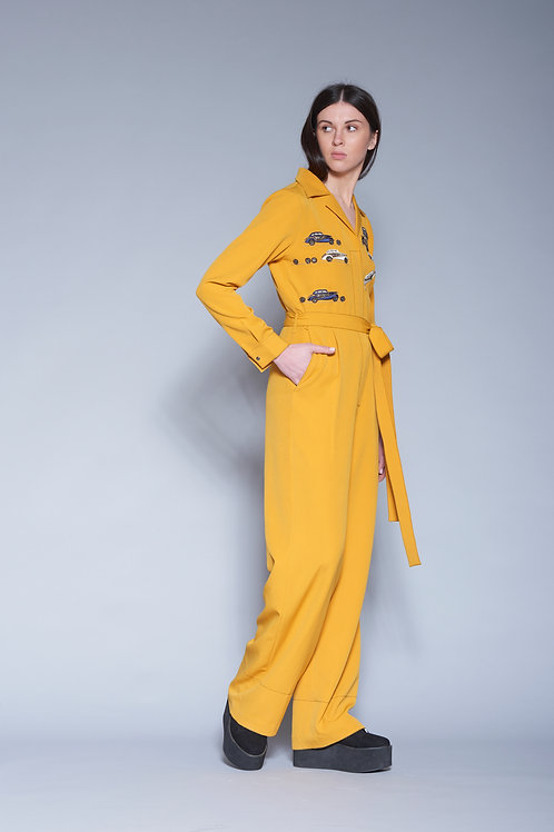 DINKY CAR JUMPSUIT WITH BELT