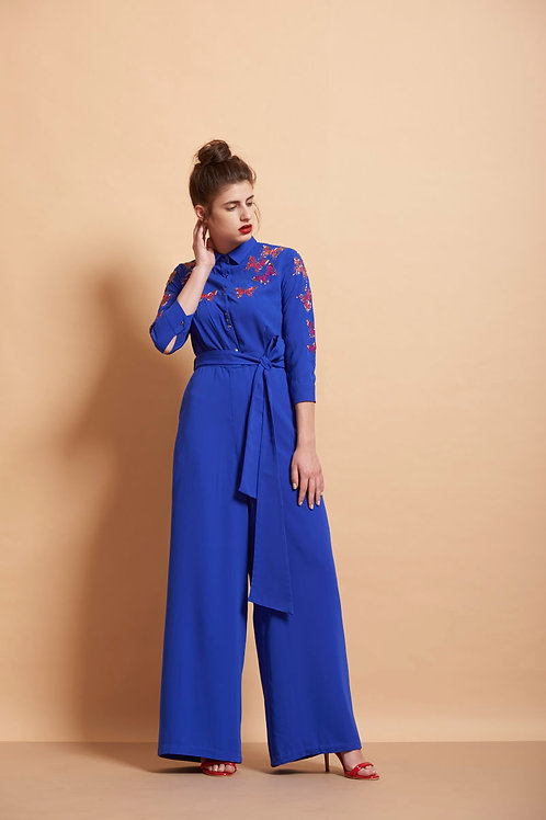 Colourful Butterfly Jumpsuit