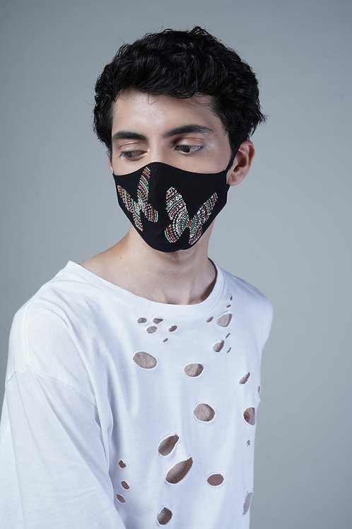 DOTTED BUTTERFLY MASK - SMK029/M