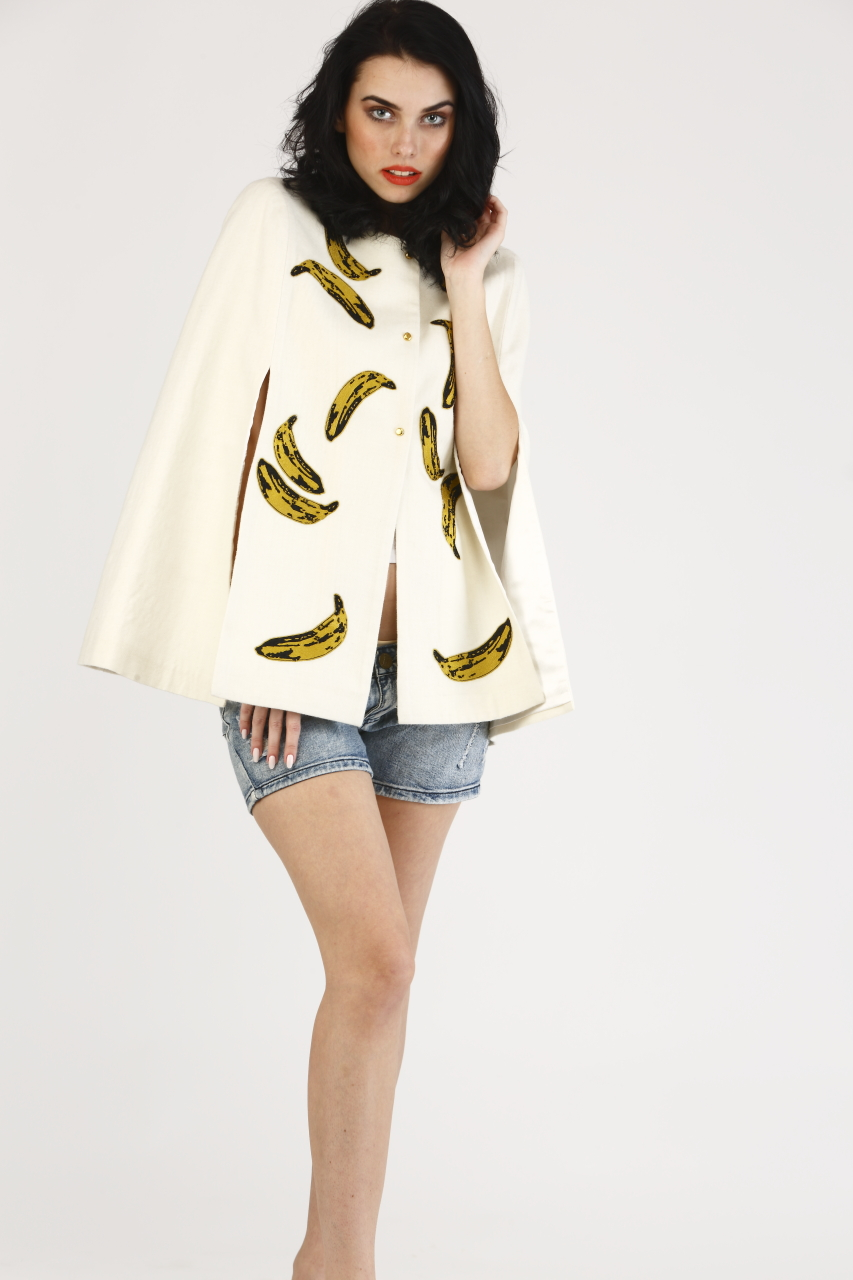 Bananalicious Cape Jacket
