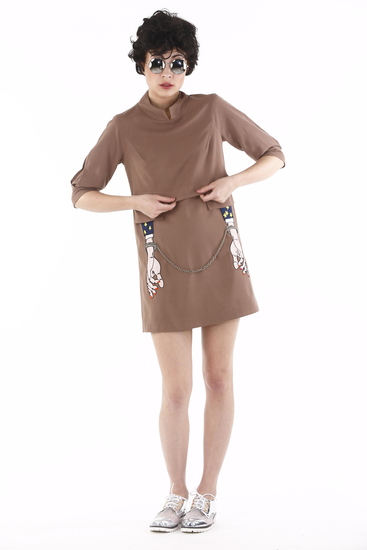 Style Arrest Double Layer Dress