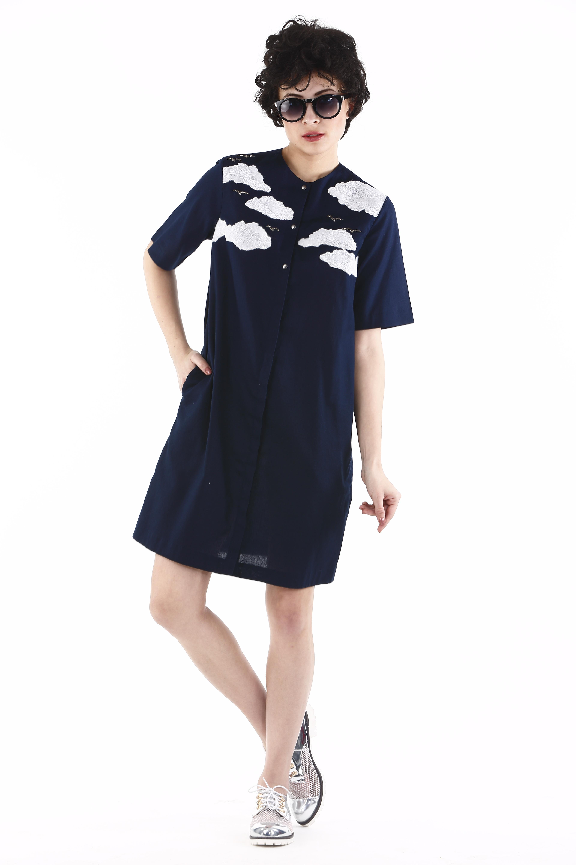 Cloud Shift Dress