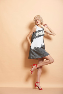 Coca Cola Shimmer Mini Dress
